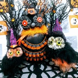 Vintage Halloween Owl Bundle